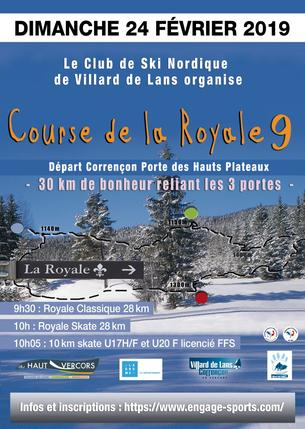 Affiche La Royale - 24 February 2019