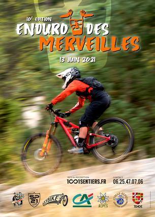 Affiche 10ème Enduro des Merveilles - 13 June
