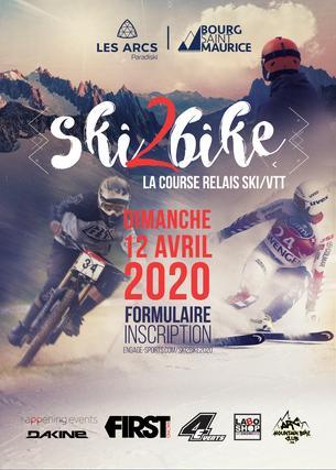 Affiche SKI2BIKE - 12 April