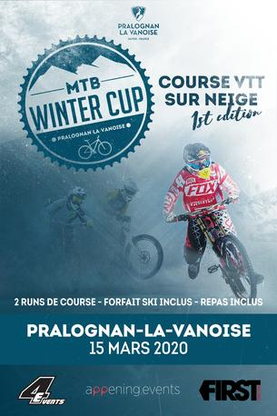 Affiche MTB WINTER CUP - 15 March