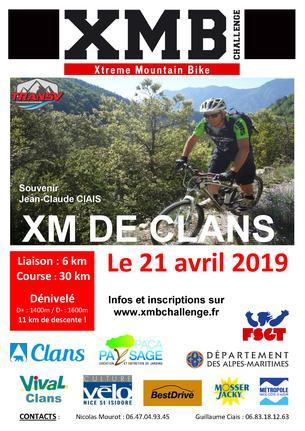 Affiche XM de Clans - 21 April 2019