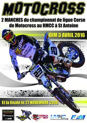 Affiche 2ème épreuve du Chpt de Corse-RMCC - 3 April 2016