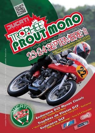 """Affiche DCF / """"Trophée Prout Mono"""" - 22/24 September 2017"""