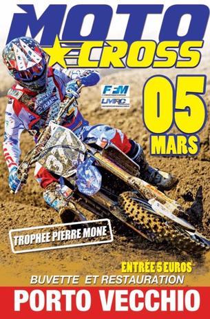 Affiche 1ère Epreuve Championnat MX Corse 2017 - MCES - 5 March 2017