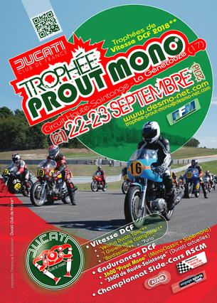 """Affiche DCF / """"Trophée Prout Mono"""" - 21/23 September 2018"""