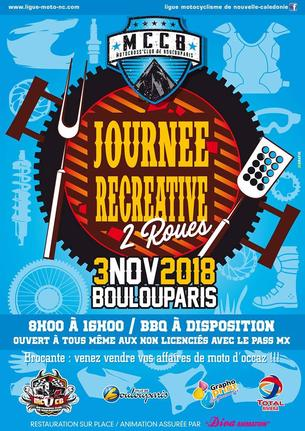 Affiche JOURNEE FIN DE SAISON MX - 3 November 2018