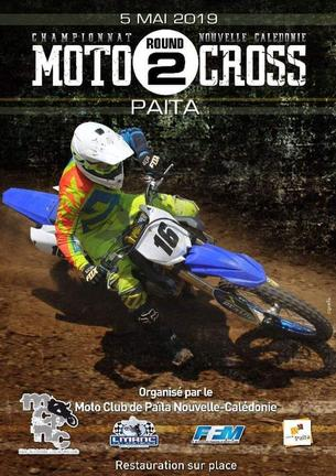 Affiche Championnat Moto Cross 2019 MINIVERT - 5 May 2019