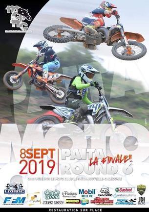 Affiche Championnat Moto Cross 2019 - 8 September 2019
