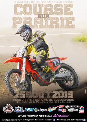 Affiche Championnat Courses sur Prairie 2019 - 25 August 2019