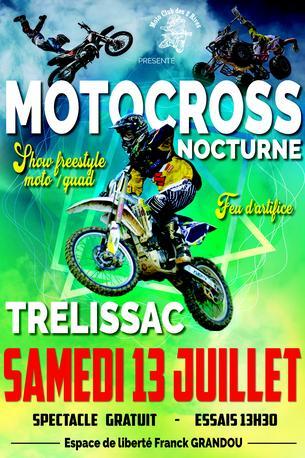 Affiche Motocross  Nocturne de Trelissac - 13 July 2019