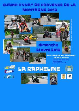 Affiche LA RAPHELINE - 21 April 2019
