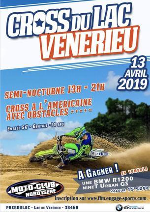 Affiche Cross du Lac (1er édition) - 13 April 2019