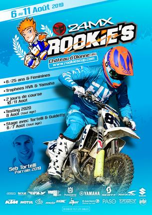 Affiche Rookie's Cup 24MX - Testing 2020 - 8 August 2019