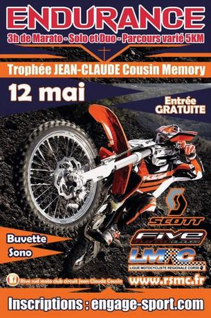 Affiche 2éme Trophée Jean Claude COUSIN Memory - 12 May 2019