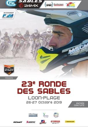 Affiche Loon-Plage - La Ronde des Sables 2020 — 3ème épreuve du CFS  3AS Racing 2020/2021 - 20/21 February