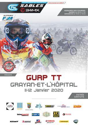 Affiche Gurp TT 2022 — 6ème épreuve du CFS 3AS Racing 2021/2022 - 8/9 January 2022