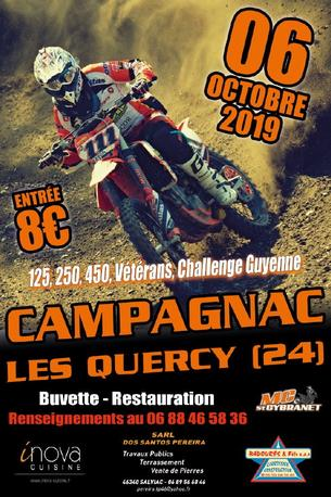 Affiche MOTOCROSS - 6 October 2019
