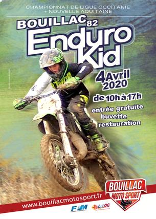 Affiche Enduro Kid Bouillac - 26 September