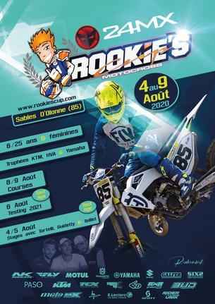 Affiche Rookie's Cup 24MX - Commissaire - 8/9 August 2020