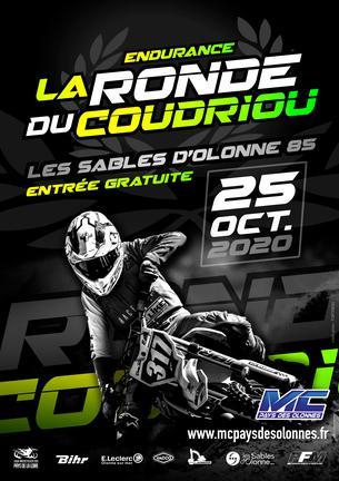 Affiche Endurance TT du CHATEAU D'OLONNE (85) - 25 October 2020