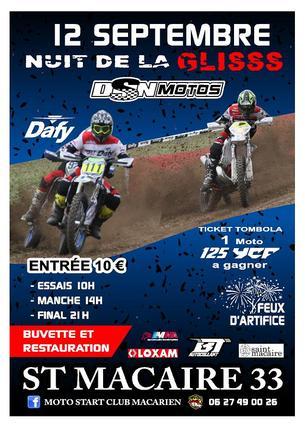 Affiche NUIT DE LA GLISSE - 12 September