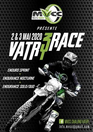 Affiche VATRY RACE - 2/3 May 2020