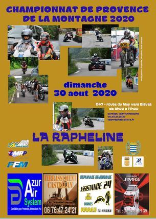 Affiche LA RAPHELINE - 30 August