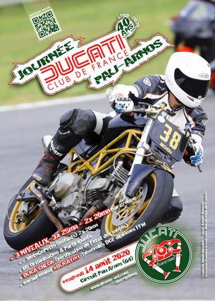 Affiche La JD' DCF® de Pau Arnos - 14 August