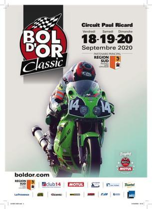 Affiche Bol d'Or Classic - 16/18 September 2020