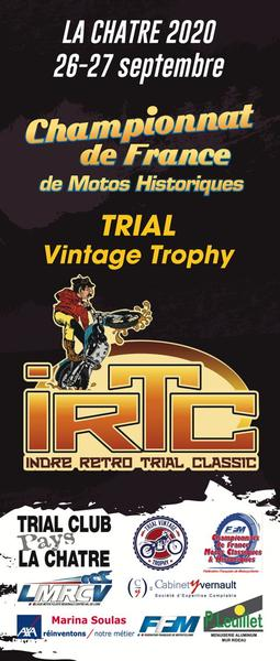 Affiche Indre Retro Trial Classic - 26/27 September