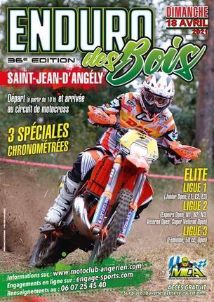Affiche Enduro des Bois - 18 April