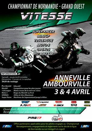 Affiche CNGO Anneville - Ambourville - 19/20 June