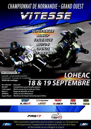 Affiche CNGO Lohéac - 18/19 September