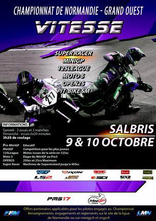 Affiche CNGO Salbris - 9/10 October
