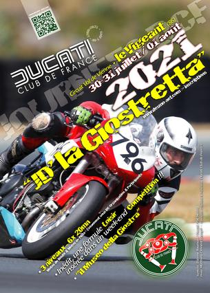 Affiche La JD' DCF® la Giostretta - 30 July/1 August