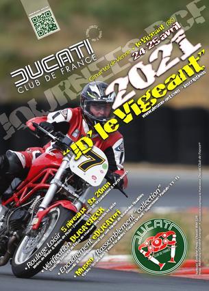 Affiche La JD' DCF® du Vigeant - 24/25 April