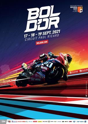 Affiche Bol d'Or - 16/19 September
