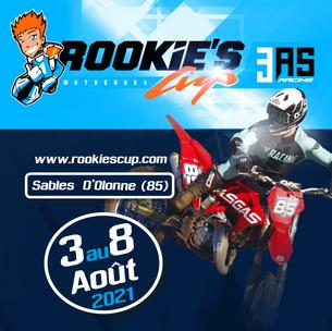 Affiche Rookies Cup 3AS RACING - Commissaire - 7/8 August