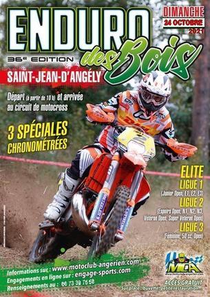 Affiche Enduro des Bois - 24 October