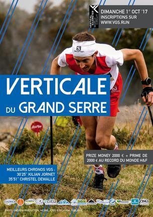 Affiche Verticale du Grand Serre 2017 - 1 October 2017