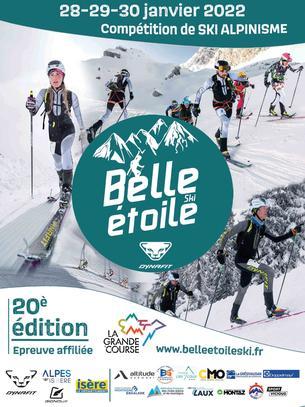 Affiche Belle Étoile 2022 - 28/30 January 2022