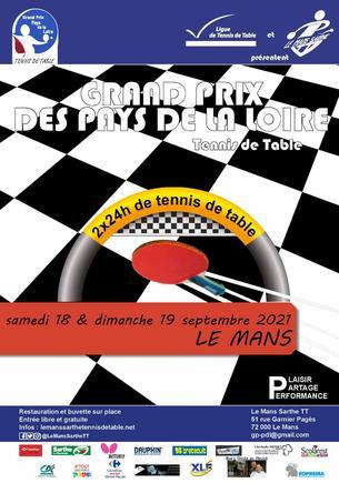 Affiche GRAND PRIX DES PAYS DE LA LOIRE - 18/19 September