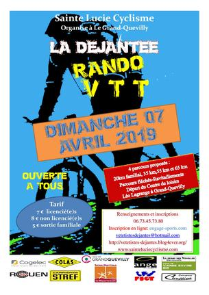 Affiche La Déjantée - 7 April 2019