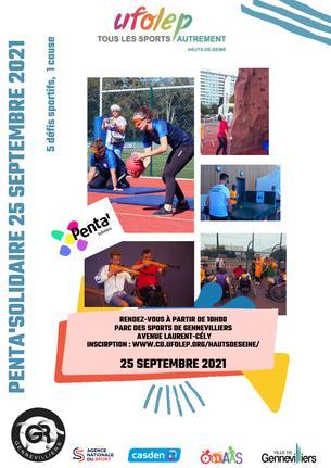 Affiche Penta'Solidaire 2021 - 25 September
