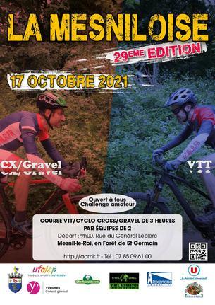 Affiche 29ème Mesniloise - 17 October