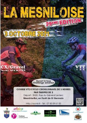 Affiche 29ème Mesniloise - 3 October