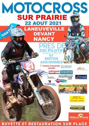 Affiche Trophée  UFOLEP Alsace Lorraine de course sur prairie - 22 August