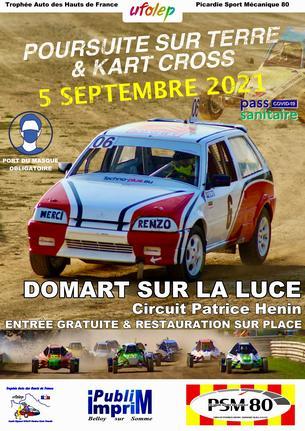 Affiche Course Domart-sur-la-Luce 05/09/2021 - 5 September