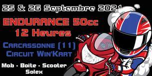 Affiche PMC Endurance 50cc - 12 Heures - 25/26 September