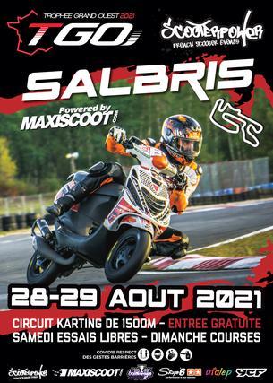 Affiche Trophée Grand Ouest Salbris - 28/29 August